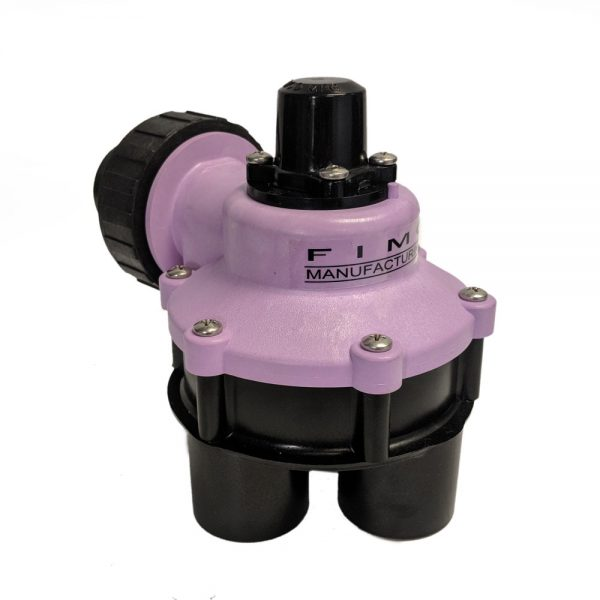 1 Inch Mini 4 Outlet Reclaimed Water Indexing Valve