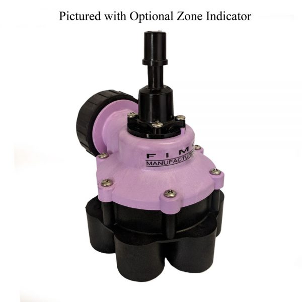 1 Inch 6 Outlet Reclaimed Water Indexing Valve