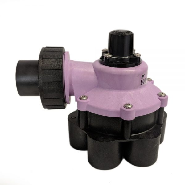 1 Inch Mini 6 Outlet Reclaimed Water Indexing Valve