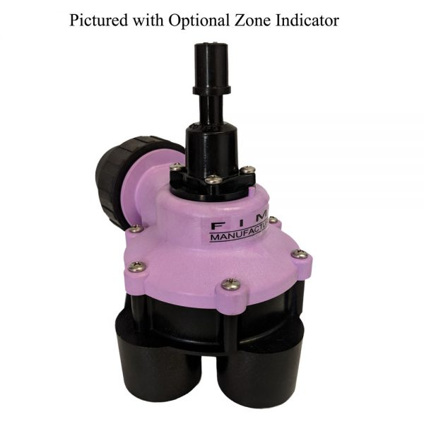 1 1/4 Inch 4 Outlet Reclaimed Water Indexing Valve
