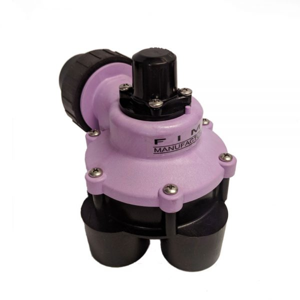 1 1/4 Inch Mini 4 Outlet Reclaimed Water Indexing Valve