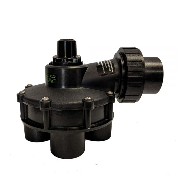 1 1/2 Inch In 1 1/4 Inch Out 4 Outlet Indexing Valve