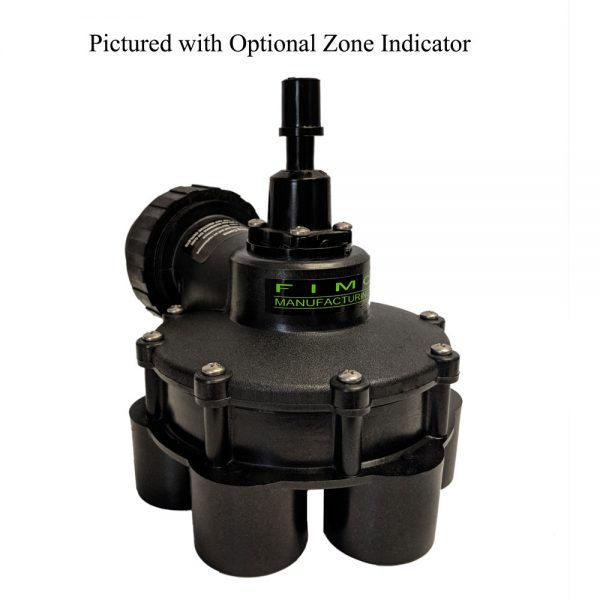 1 1/2 Inch In 1 1/4 Inch Out 6 Outlet Indexing Valve