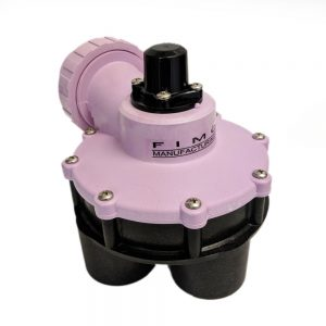 1 1/2 Inch 4 Outlet Reclaimed Water Indexing Valve