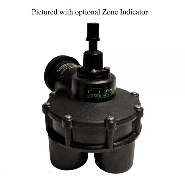 1 1/2 Inch 4 Outlet Indexing Valve with Zone Indicator