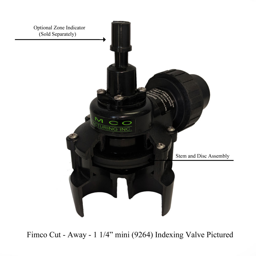 1 4 Outlet Hydro Indexing Valve For
