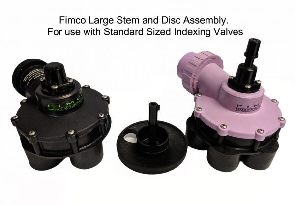 Standard Valves with Stem and Disk Assembly